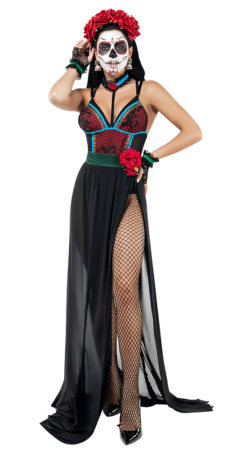 Starline S9027 Lovely Muerta Costume - A