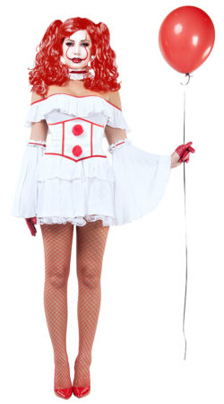 Starline S9030 Evil Clown Hottie Costume - A