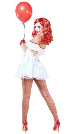 Starline S9030 Evil Clown Hottie Costume - B
