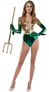 Starline S8033 Atlantis Queen Womens Costume - A