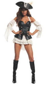 Starline S2013 Women's Black Pearl Pirate Costume A
