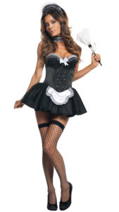 Starline S2183 Women's Seductive Maid Costume - A