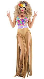 Starline S6061 Women's Hippy Costume - A