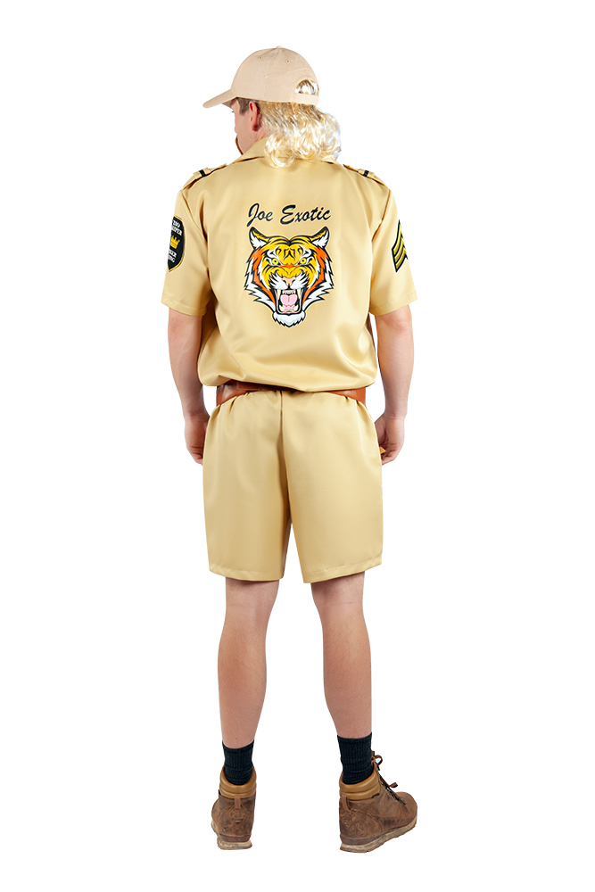 Official Joe Exotic Tiger King Zookeeper Costume