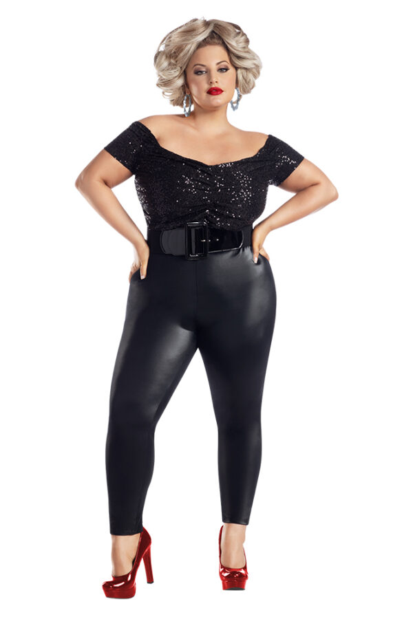 Starline Plus Size Bad Sandy Costume