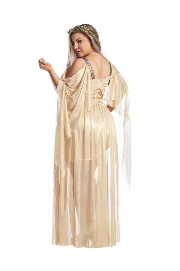 Starline Plus Size Gilded Goddess Costume