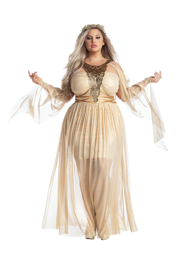 Starline Plus Size Gilded Goddess Costume