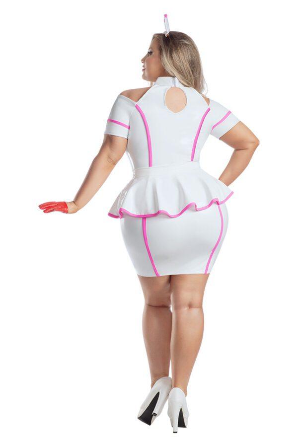 Starline Plus Size Pink Nurse