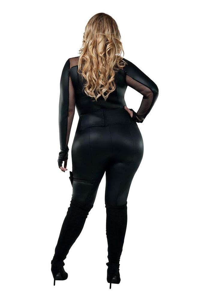 Starline Plus Size Secret Agent Costume