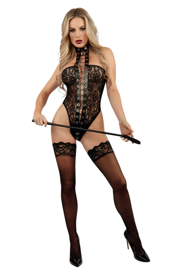 Starline Lacey Lace-Up Teddy
